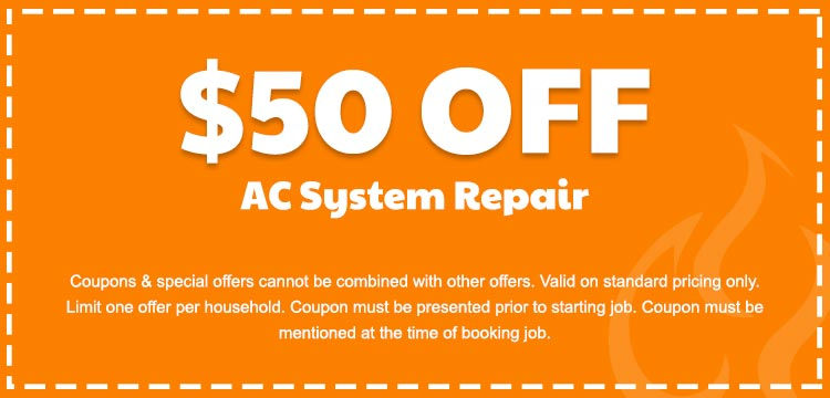 discount on ac system repair services in Edmonton, AB