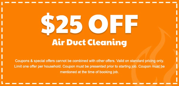 discount on air duct cleaning services in Edmonton, AB