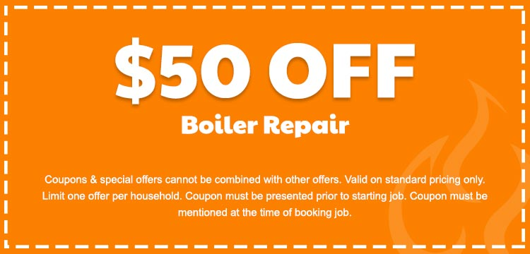 discount on boiler repair services in Edmonton, AB
