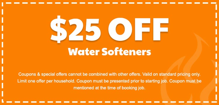 discount on water softeners in Edmonton, AB